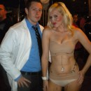 A Daring Nip/Tuck Couple Costume: Dr. Troy and his Patient
