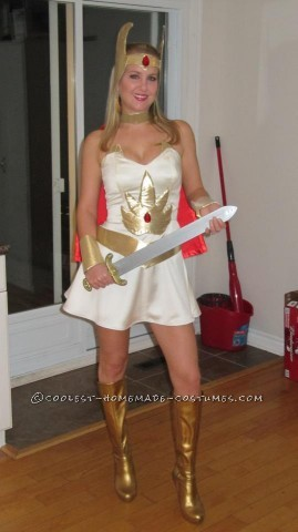 Coolest Homemade She-Ra Costume - A Dream Come True