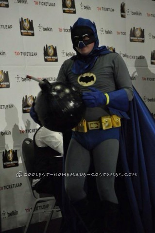 When I decided that I wanted to do a Batman costume for a comic convention I went to with friends this past September, I went in with the thought tha