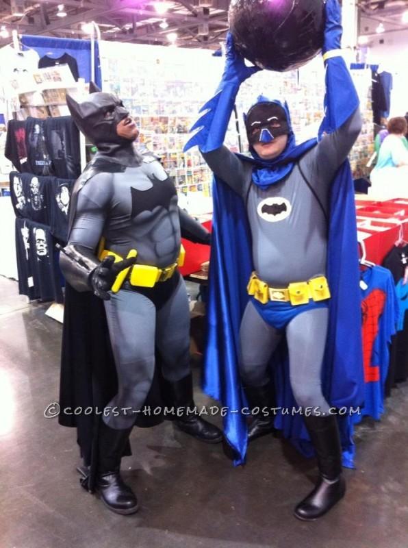 Cool DIY Adam West Style Batman Costume with Bomb! - 1