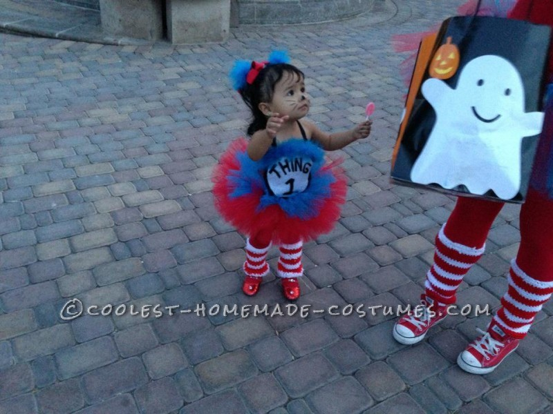 I started my sons costume without knowing how to sew, but managed to learn in the process. lol I made his and her costume from start to finish. From