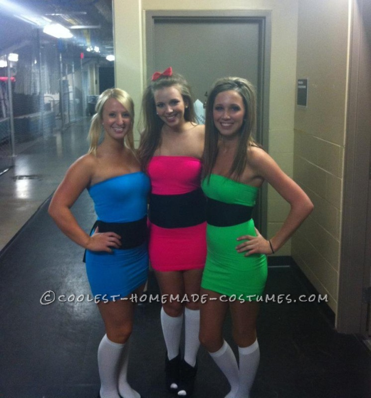 Easy, Last-Minute Power Puff Girls Group Costume