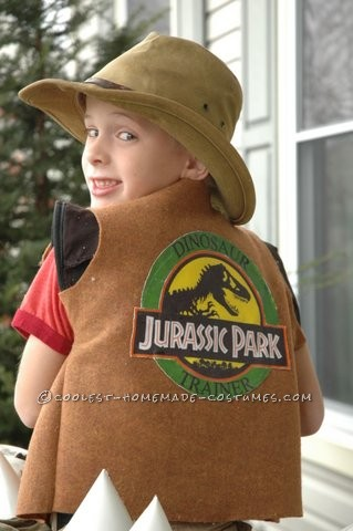 Amazing Dinosaur Trainer Illusion Costume for a Boy