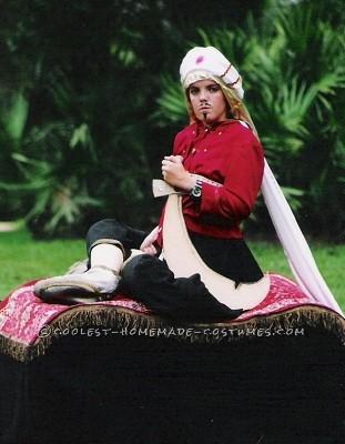 Amazing Homemade Magic Carpet Ride Costume