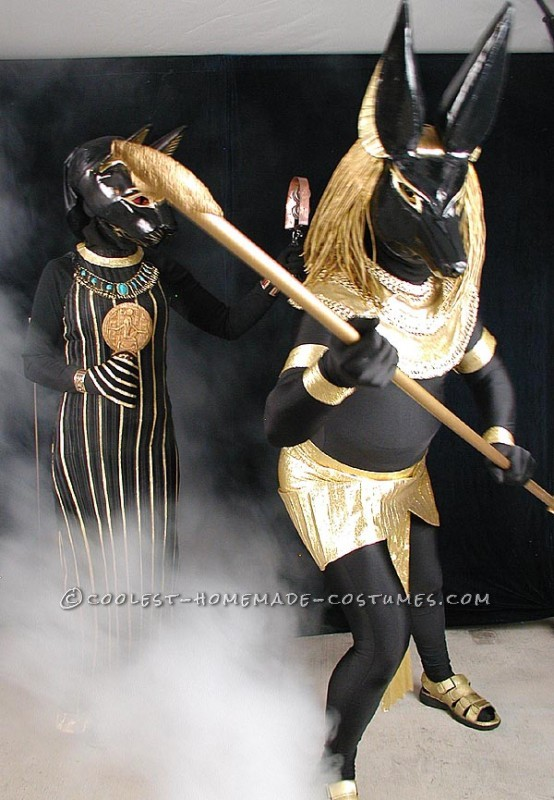 Anubis Defending Bastet