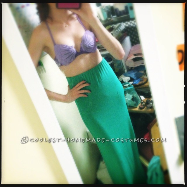 Homemade Ariel – Little Mermaid Costume