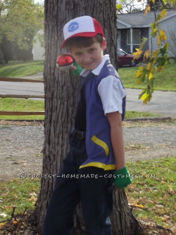 Homemade Ash Ketchum Pokemaster Costume