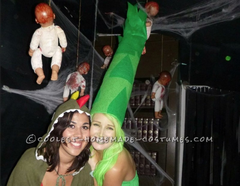 Super-Original Asparagus Costume
