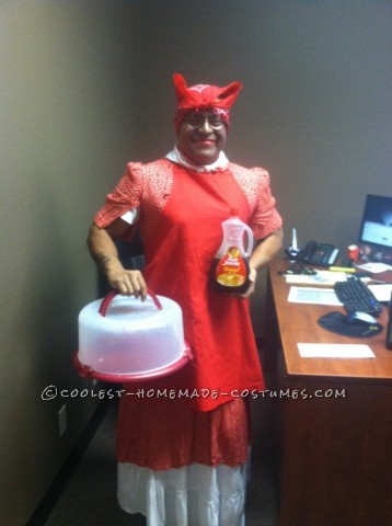 Great Last-Minute Aunt Jemima Halloween Costume