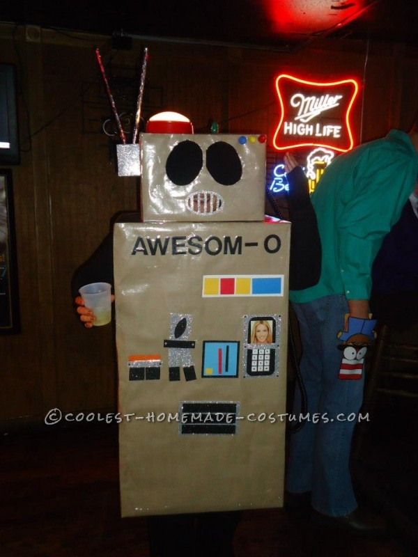 Awesome Awesom-O Costume from South Park