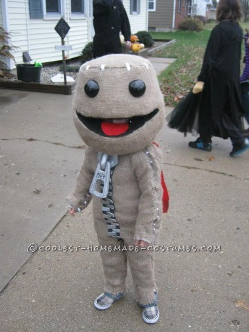 Awesome Little Big Planet's Sackboy Halloween Costume