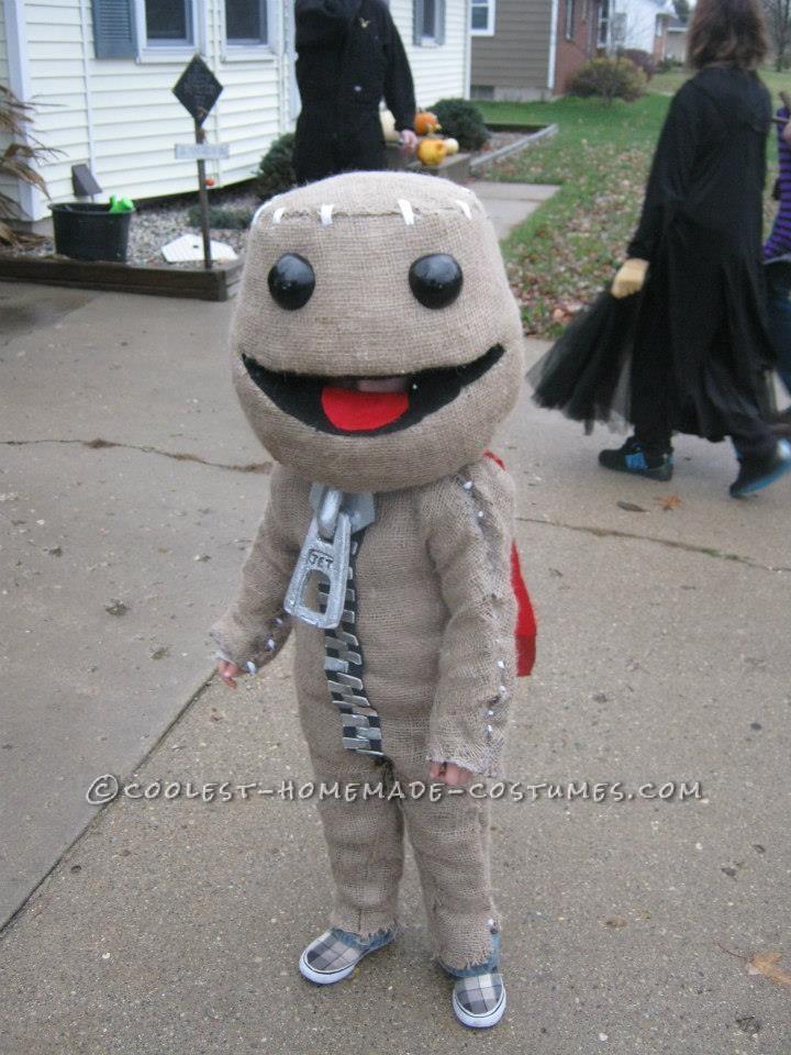 Awesome Little Big Planet's Sackboy Halloween Costume
