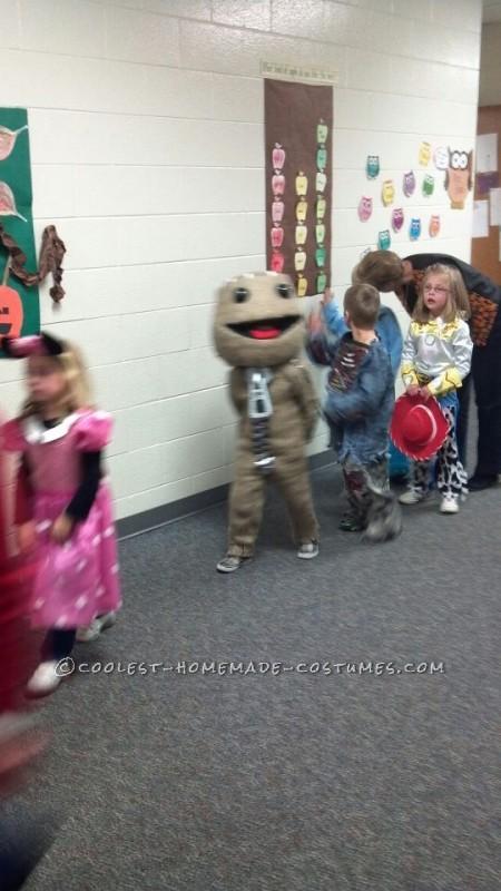 Awesome Little Big Planet's Sackboy Halloween Costume - 2