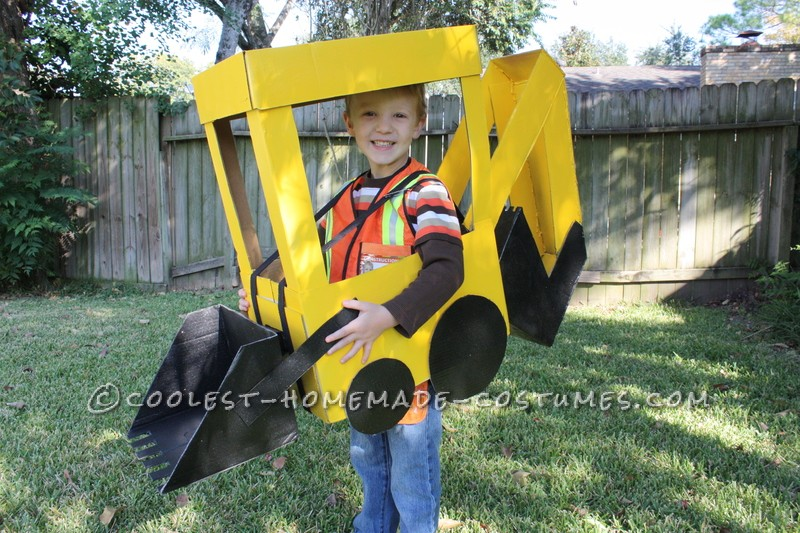Awesome Backhoe Loader Preschool Halloween Costume