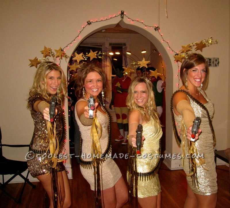 Stunning Shooting Stars Girl Group Costume