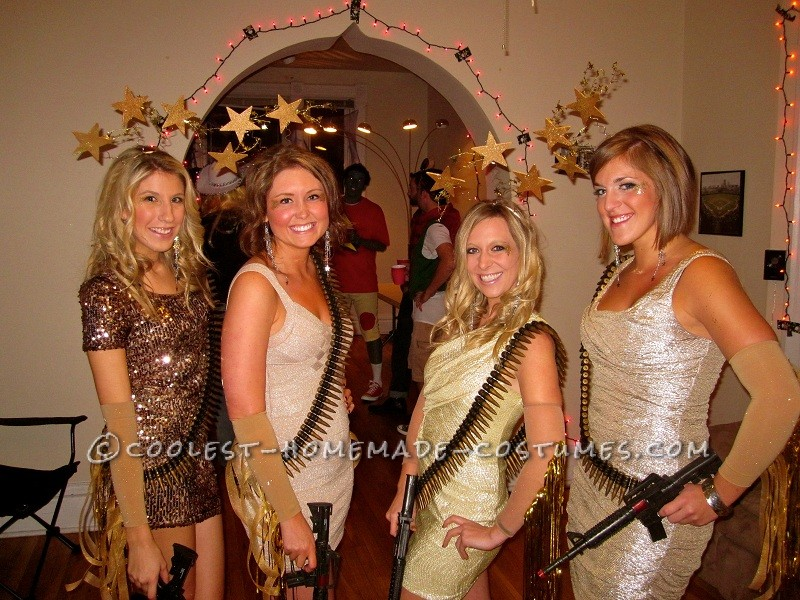 Stunning Shooting Stars Girl Group Costume - 1