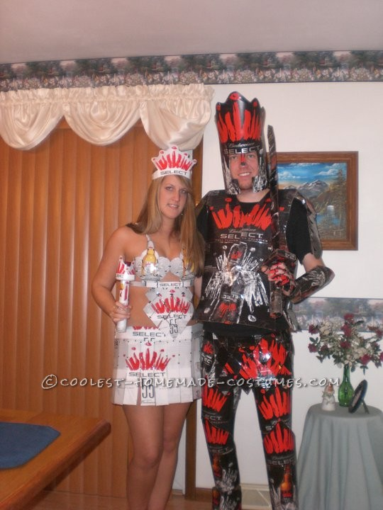The Knight and Princess of Beer