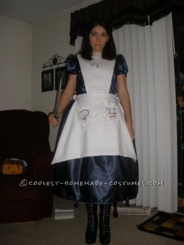 I was really into playing American McGee\'s Alice and feel in love with the main character. I wanted so badly to be this character for halloween an