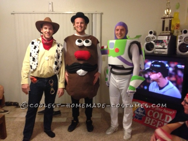 The whole toy story gang