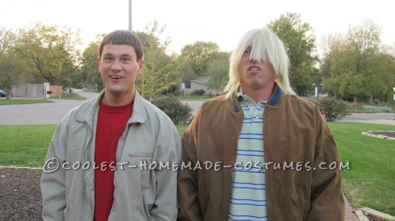 Best Dumb and Dumber Look-A-Like Costume Ever! - 2