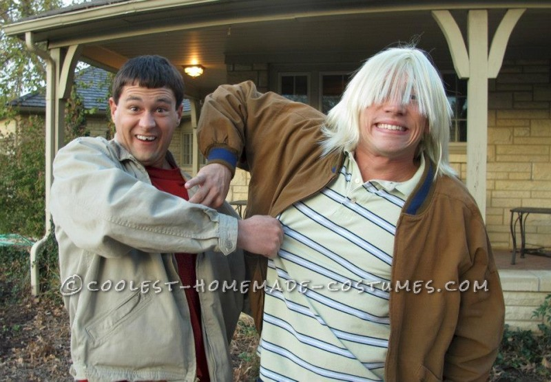 Best Dumb and Dumber Look-A-Like Costume Ever! - 5