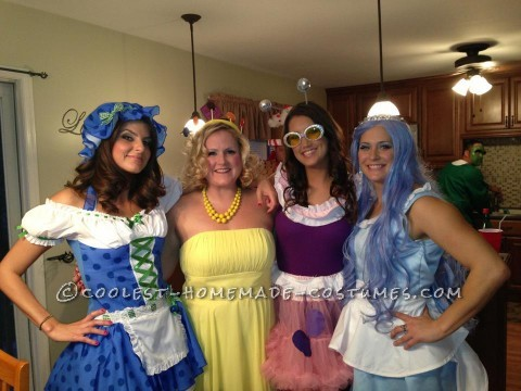 Best Candy Land Group Halloween Costume: Candy Land Halloween 2012