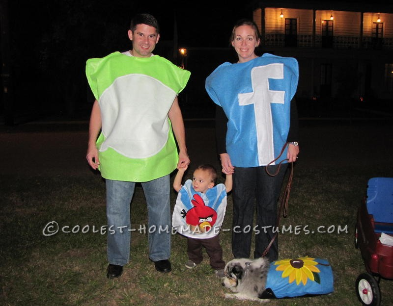 Original Group Halloween Costume: App Icons!