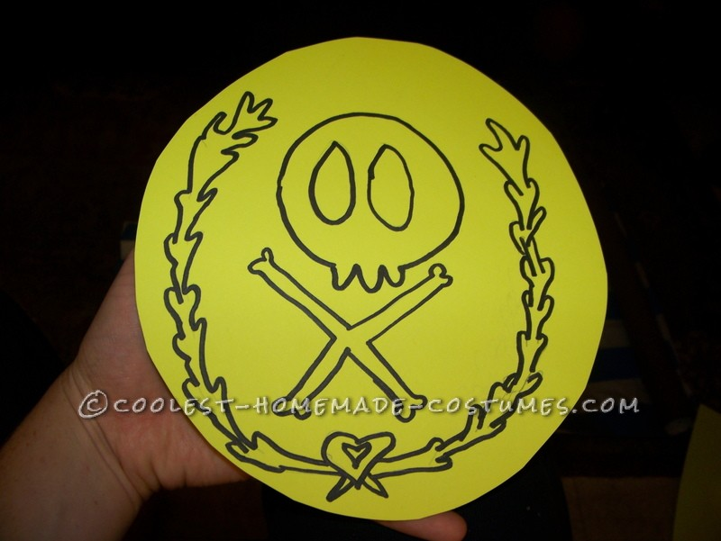The pirate crest