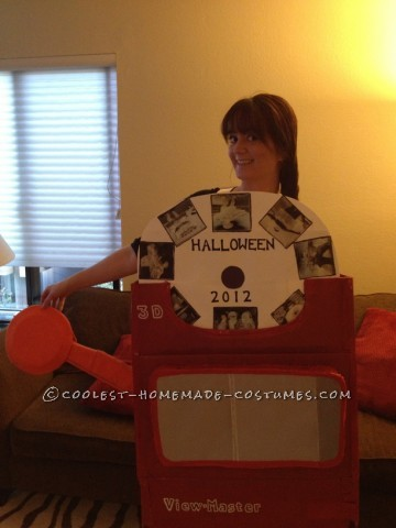 Original Homemade Halloween Costume: An Adult View Master!