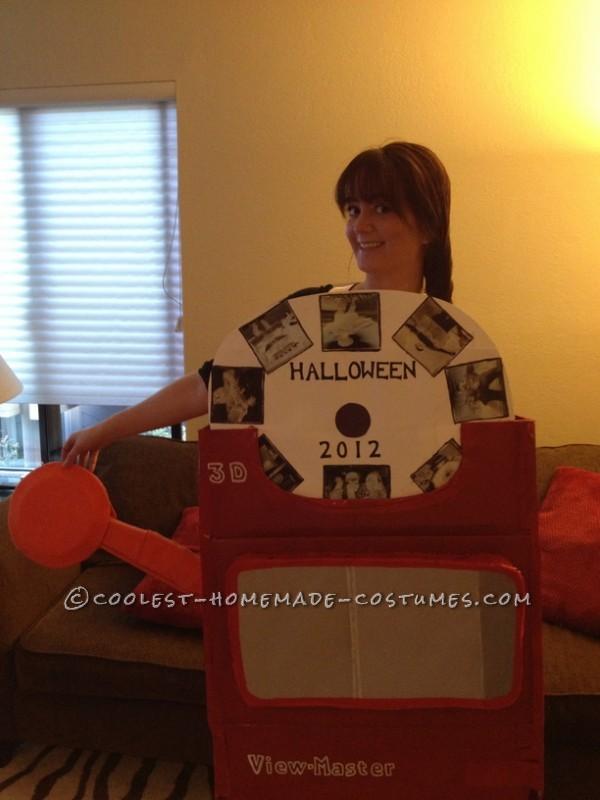 Original Homemade Halloween Costume: An Adult View Master!