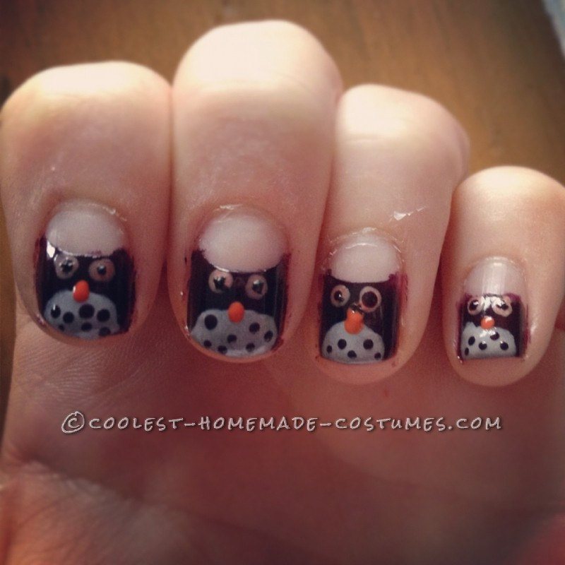 My nails that I painted