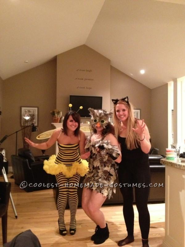 Best Woman's Owl Homemade Halloween Costume - 5
