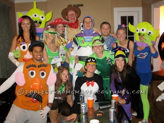 Biggest Toy Story Group Costume Ever