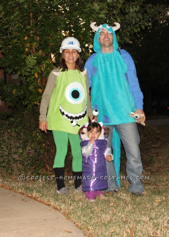 Coolest Little Boo and Monsters Inc. Character Costumes - 1