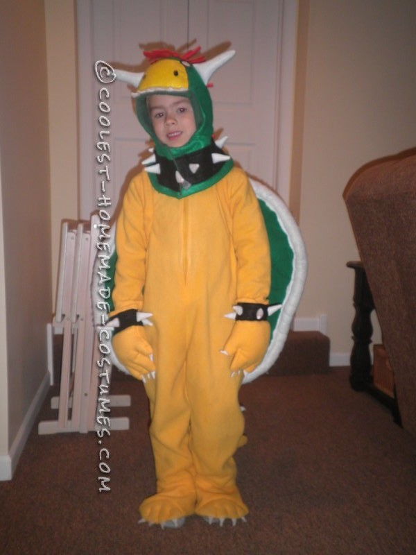 Coolest DIY Bowser Costume from Super Mario Bros - 2