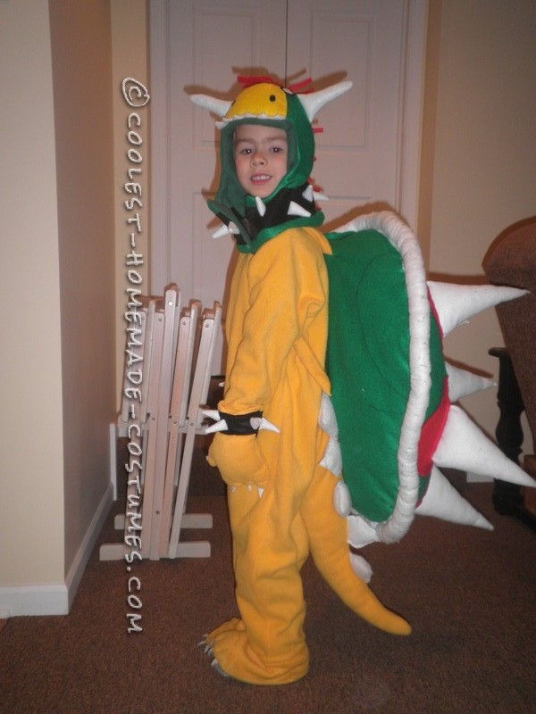 Coolest DIY Bowser Costume from Super Mario Bros