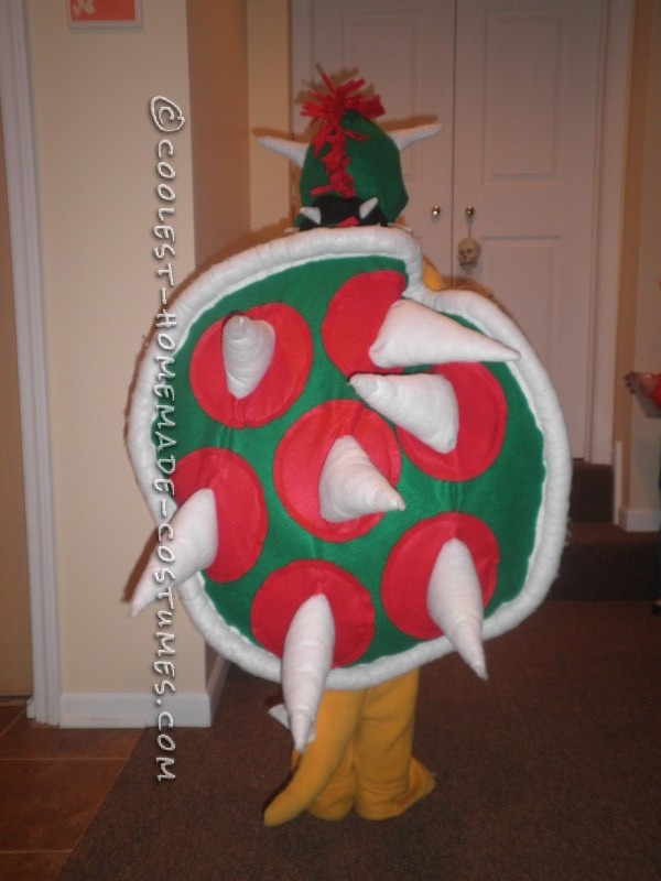 Coolest DIY Bowser Costume from Super Mario Bros - 1
