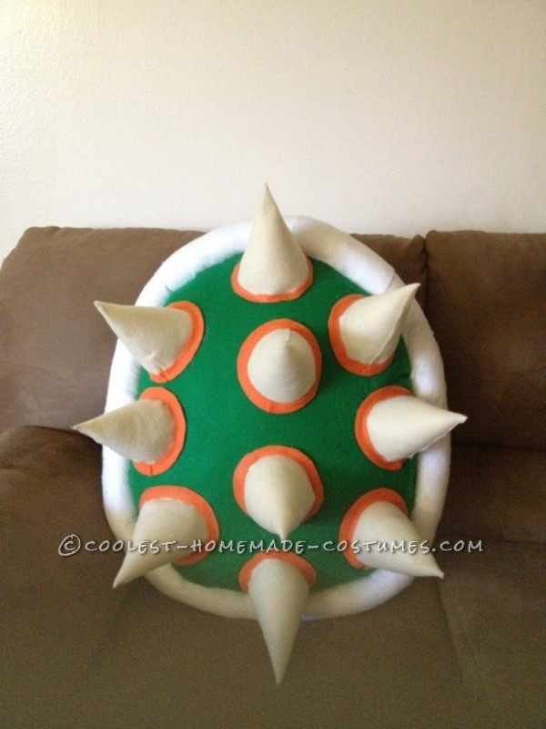 Cool DIY Bowser (King Koopa) Halloween Costume for a Boy: This year my 4 year old son Julian said he wanted to be Bowser (King Koopa) for Halloween. I looked for it everywhere online... but, couldn't seem to