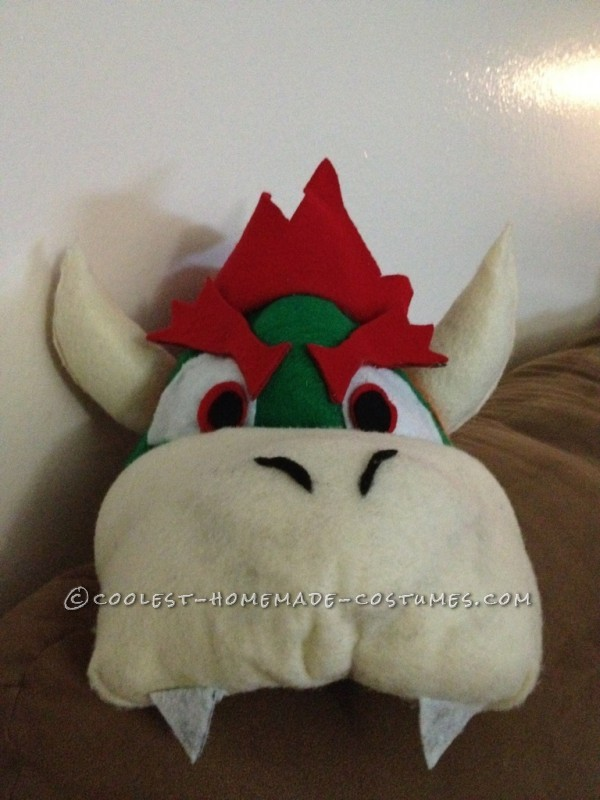 Cool DIY Bowser (King Koopa) Halloween Costume for a Boy - 3