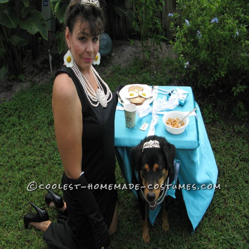 Breakfast at Tiffany's Owner and Dog Costume - 7