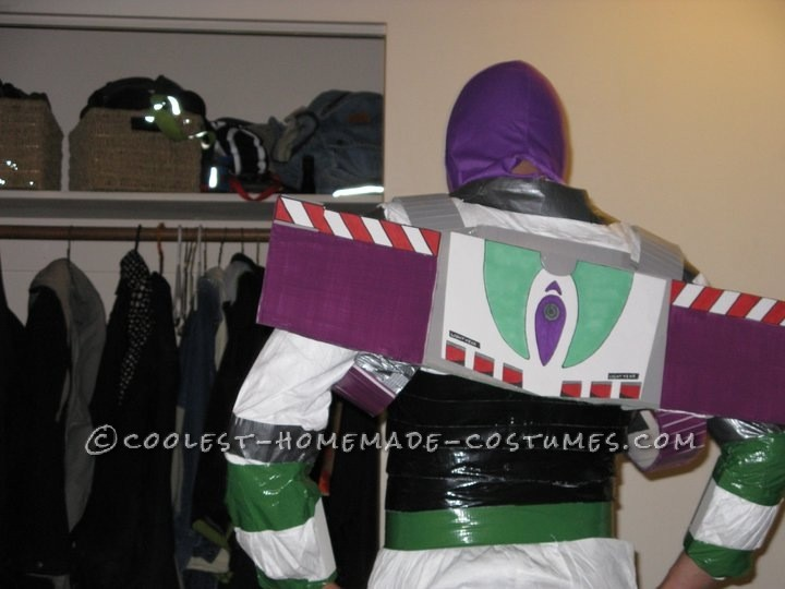 Homemade Buzz Lightyear Halloween Costume - 1