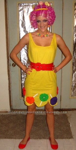 Coolest Homemade Candy Land Group Halloween Costume - 1