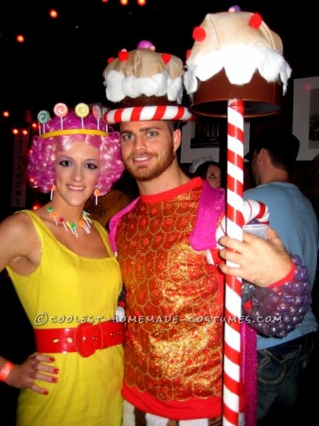 Coolest Homemade Candy Land Group Halloween Costume - 6