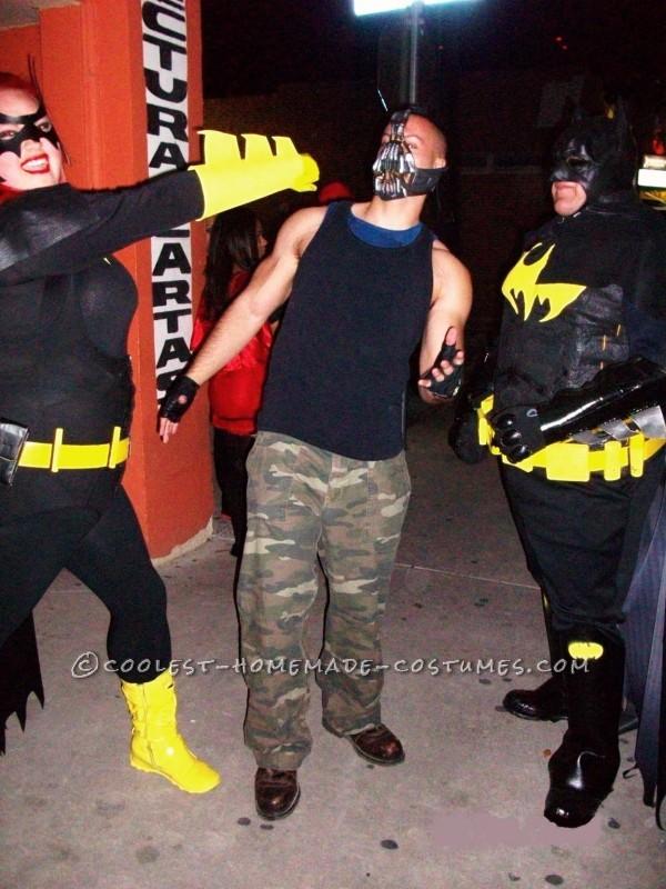 Batgirl taking down Bane..