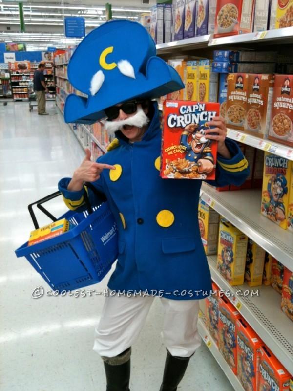 Realistic Cap'n Crunch Homemade Halloween Costume