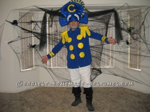 Homemade Captain Crunch Halloween Costume