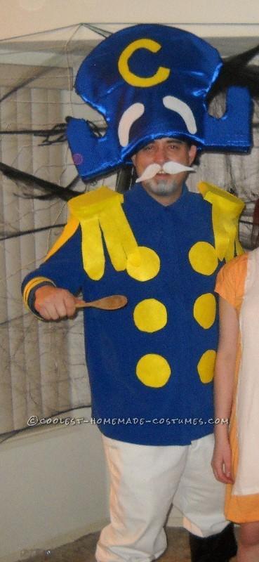 Homemade Captain Crunch Halloween Costume - 1