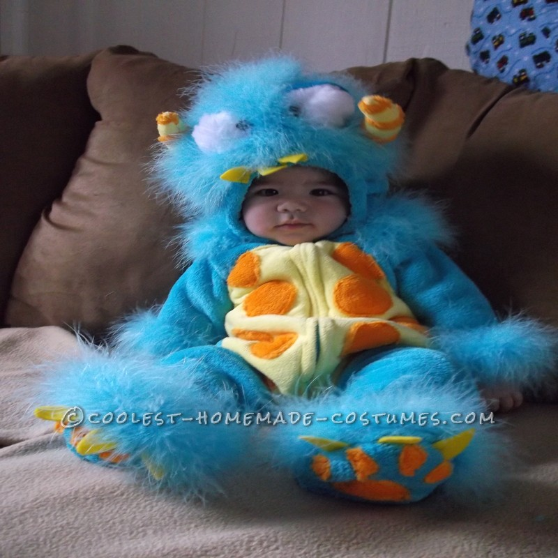Silliest Baby Scully Costume From Monsters Inc