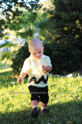 Cute Last-Minute Charlie Brown Costume