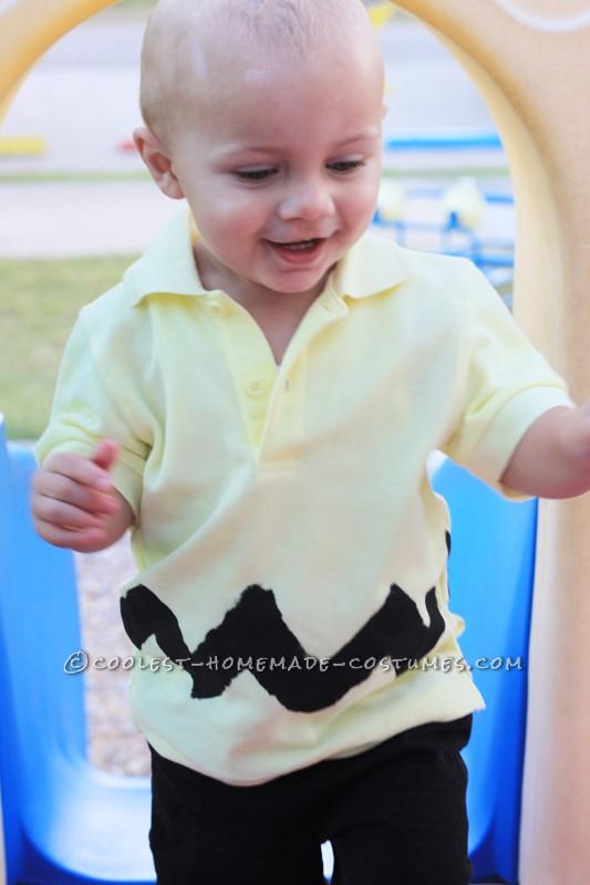 Cute Last-Minute Charlie Brown Costume
